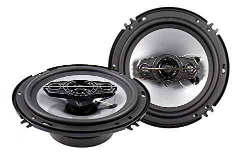 Vetrineinrete® Casse per auto 400 watt 4 vie coppia di altoparlanti coassiali stereo tweeter woofer 16 cm 400w P17