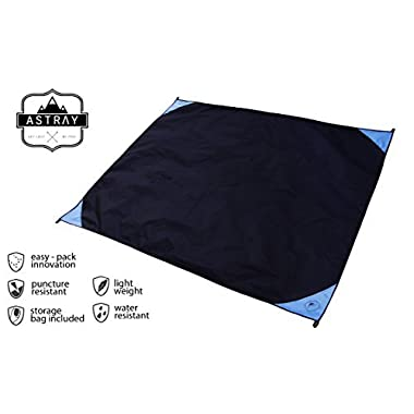 Abeter Sand Free Beach Mat Blanket Sand Proof Magic Sandless Sand Dirt & Dust Disappear Fast Dry Easy to Clean Waterproof Rug Avoid Sand Dirt And Grass Keep Everything Clean And Perfect