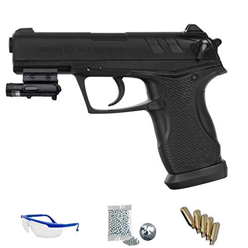 Kit Gamo C-15 Blowback | Pistola de Aire comprimido (CO2) de balines BB's y perdigones <3,5J