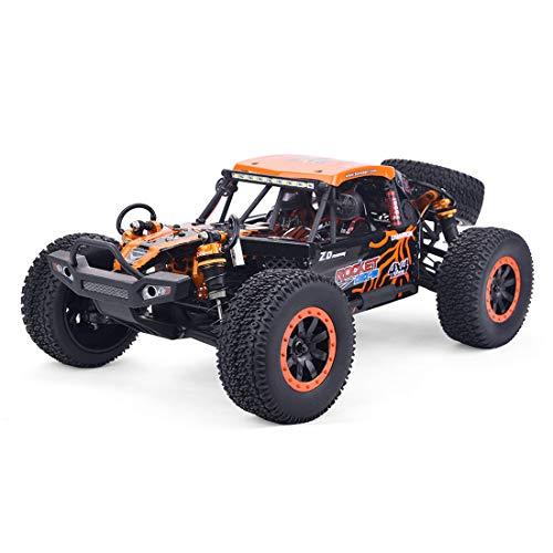 Sunbary Coche todoterreno teledirigido 4WD 1/10 2,4 GHz RC Offroad, motor de cepillo 55 km/h, velocidad rápida, Monster Truck RC Buggy juguete para niños y adultos
