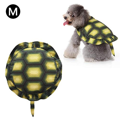 Brownrolly Halloween hond kostuum Turtle Dress Up Turtle Shell Huisdier rugzak voor feestjes, Shoot Walking