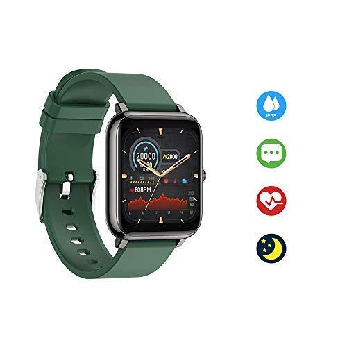 Ayuly Smart Watch mit Blutdruckmessung Fitness Tracker mit Pulsmesser Wasserdicht IP68 Fitness Uhr Blutdruck Messgeräte Pulsuhr Schrittzähler Uhr Schlafmonitor für iOS & Android