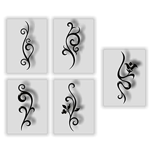 airbrush schablonen nail art, nail stencils, nagel aufkleber, airbrushschablonen, nagellack schablone