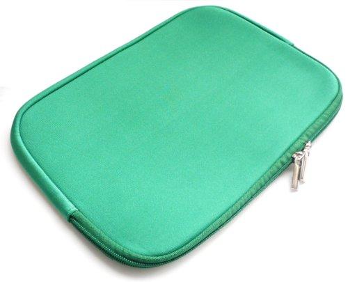 Emartbuy® Green Wasserdicht Neopren weicher Reißverschluss Kasten Abdeckung Sleeve Geeignet Für Asus EeeBook E402SA 14 Zoll NoteBook ( 13-14 Zoll Laptop / Notebook / Ultrabook )