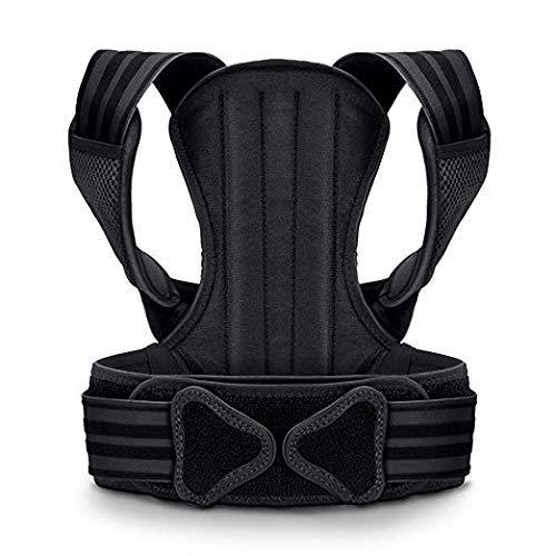 VOKKA Geradehalter zur Haltungskorrektur Rücken für Damen & Herren - Schultergurt Haltungskorrektur - Unterstützung für Wirbelsäule und Rücken - Lindert Nacken-, Rücken- und Schulterschmerzen - L