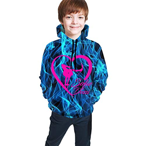 Onepaul Children's Sofie Dossi Casual Hoodies Sweatshirt 3D Print Tops Fashion Hoodies for Kids/Youth/Boys/Girls Pullover Sweatshirt for Outdoor