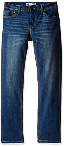 Levi's Boys' Big 511 Slim Fit Performance Jeans, Evans Blue, 14