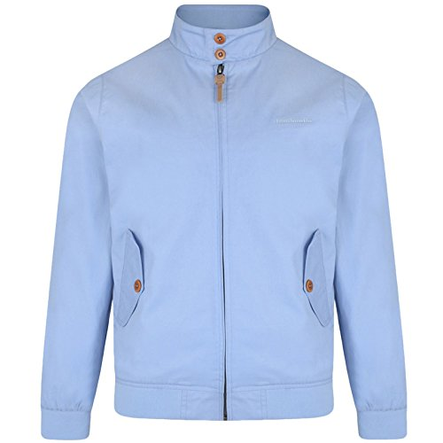 Lambretta Mens Harringtonjacke / Bomberjacke, Mod- / Ska- / Scooter-Jacke. Gr. XXXXL, powder blue