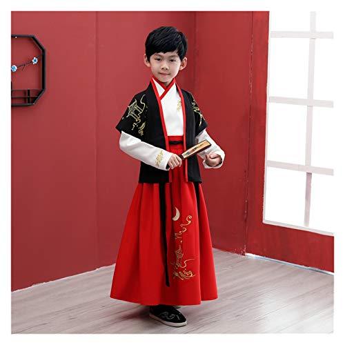 WanXingY Children's Hanfu Boys Pupils Elegante Estilo Antiguo Chicos Estilo Chino Traje Antiguo Super Fairy Summer Tang Disfraz Hanfu (Color : Style P, Size : 130cm)