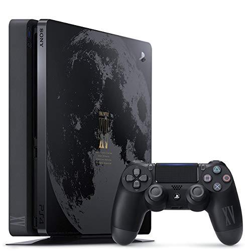 PlayStation 4 - Konsole (1TB, Slim, Schwarz) im Limited Final Fantasy Design inkl. Final Fantasy XV Deluxe Edition