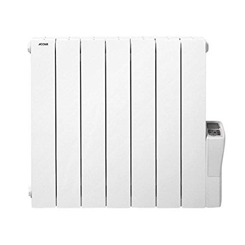 Heizkörper, fließende caloporteurs Acova Atoll Tax LCD 1250W–Weiß