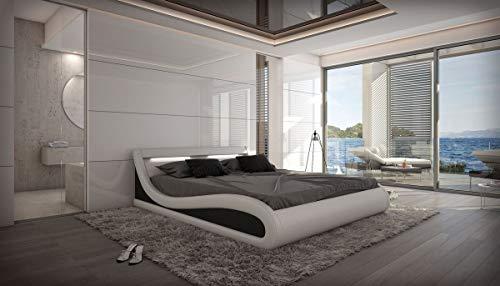 Sofa Dreams compleet bed Caserta met matras en lattenbodem 140x200, 160x200, 180x200, 200x200,m 200x220cm