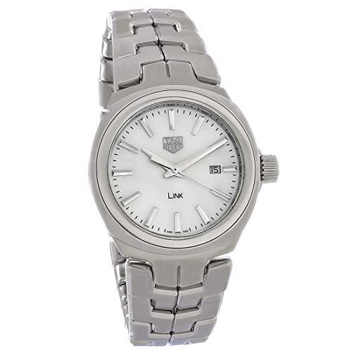 TAG Heuer Women's Link 32mm Steel Bracelet & Case Quartz Watch...