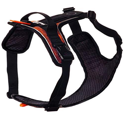 NON-stop dogwear Ultra Harness | 117 | Hunde-Geschirr für viele Aktivitäten, Größe:L (B75-90|H53-75)