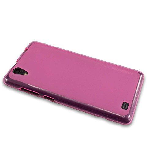 caseroxx TPU-Hülle für Medion Life E5001, Tasche (TPU-Hülle in pink)