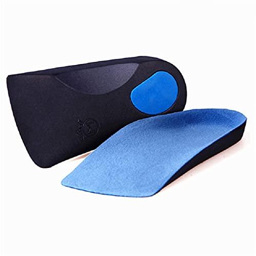 HBIN Plantillas ortopédicas EVA Adulto Arco Plano de pie apoyado Ortesis Orthotics Plantillas ortopédicas para Hombres y Mujeres pies de Cuidado de la Salud (Size : EU 34 to 36 Size XS)