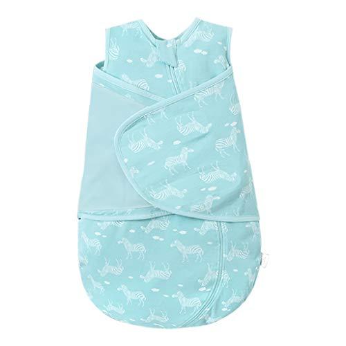 ODENWÄLDER Baby Nice Sac de couchage 90 cm été Coton Unisexe Bleu Turquoise
