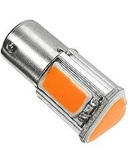 Hsmin. 1 stks 1156 RED 3500K BA15S 4 COB LED Low Consumptie Hoge Heldere Lange Leven Auto Staart Stop Rem Licht 12V Draai Signaal Lamp # 290323