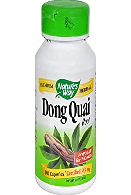 Nature's Way Dong Quai Root 565 mg (100 Capsules)