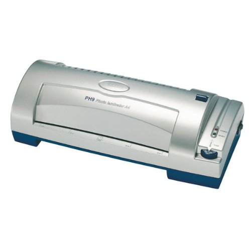 Leitz 24264 lamineermachine PH9, A4, zilver/blauw