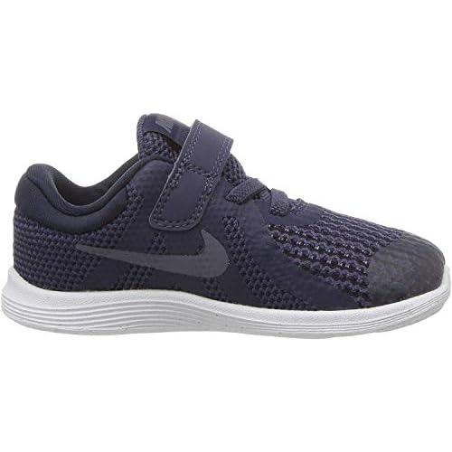 Nike Revolution 4 (TDV), Pantofole Unisex-Bimbi 0-24, Blu (Neutral Indigo/Light Carbon-Obsidian 501), 19.5 EU