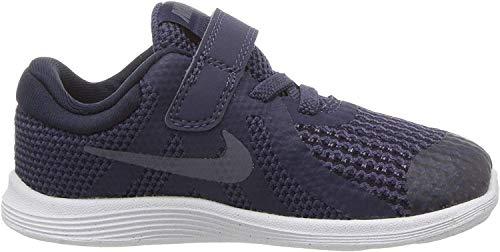 Nike Unisex Baby Revolution 4 (TDV) Hausschuhe, Blau (Neutral Indigo/Light Carbon/Obsidian 501), 21 EU