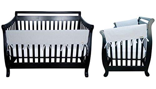 "professional Crib Wrap Crib Wrap 3 Piece Cover Set TrendLab – 1- 51 ""Front Rail Cover, 2-27"" Side Rail…"