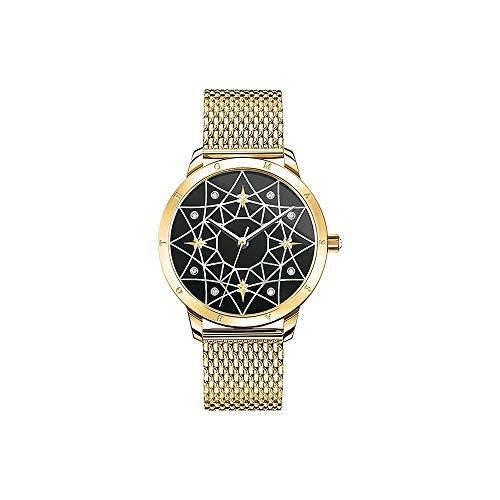 THOMAS SABO Damen Analog Quarz Uhr mit Edelstahl Armband Set_WA0373-275-203-33 MM