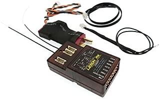 Lemon-RX 7ch. Full-Range DSMX Telemetry System with Sensors LM0052, Deans