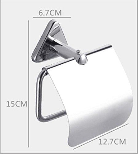 Toilettenpapierhalter / Toilettenpapierbox - Mit Sauger Wasserdichte Toilettenpapierbox