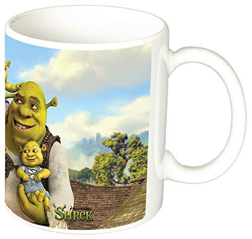 MasTazas Shrek Y Familia Shreks Family Taza Ceramica
