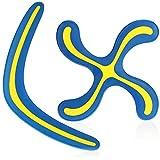 com-four® 2X Boomerang - Juguete para niños y Adultos - Boomerang en 2 diseños [la selección varía] (02 Piezas - Boomerang)