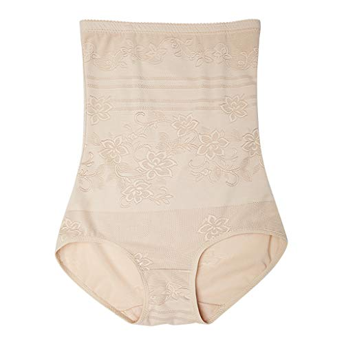 WUDUBE Damen Miederpants Baumwolle figurenformend Miederslip Super Elastisch Shapewear mit Hohe Taille Bauch Weg Effekt
