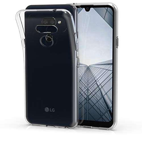 kwmobile Hülle kompatibel mit LG K40S - Silikon Handyhülle transparent - Handy Hülle in Transparent