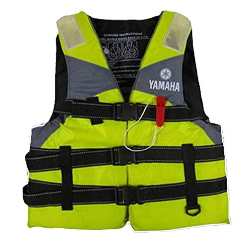 Backboards Chalecos De Pesca,Sin Mangas Cómodo Bolsillos Chalecos,Secado Rápido Ajustable Chaqueta,Viajes Deportes Caza Kayak Acampa Táctica Kayak Abrigo,Yellow