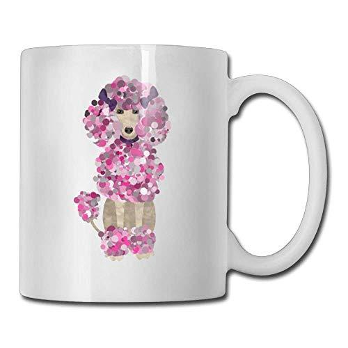 Divertenti barboncini di vernice per caffè 11 Oz Regalo di compleanno Tazza da tè in ceramica Tazza da caffè 11oZ il regalo perfetto per la famiglia e gli amici