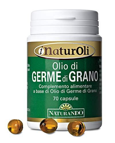 Naturando Olio di Germe di Grano 70 Perle per il Metabolismo dei Lipidi