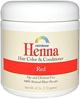 Rainbow Research Red Henna, 4 Ounce (Pack of 2)