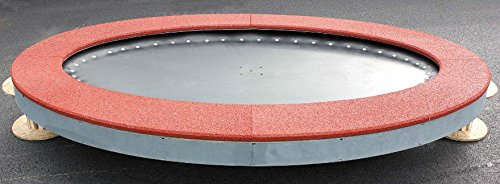 Trampoline ellipse saturnus voor inbouw.