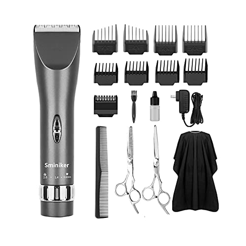 Sminiker Professional Hair Clippers Cordless...