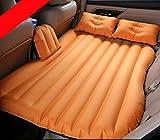 Cama hinchable para coche, cómoda y de viaje, para asiento trasero de coche, para niños, color gris