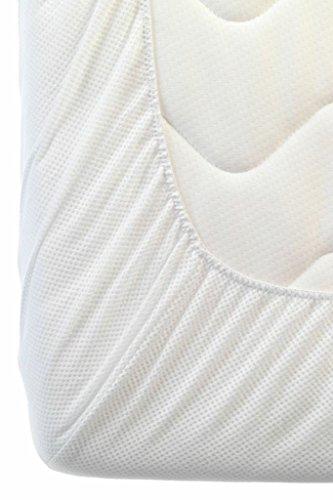 AeroSleep hoeslaken voor (58 x 73 cm, wit)
