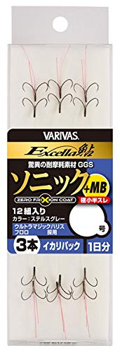 VARIVAS(バリバス) 902 エクセラ鮎ソニック+MBイカリパック 3本 6.5号