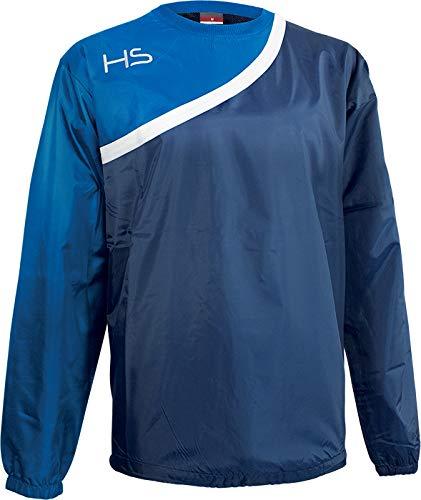 HS F15 Energy Calcetines de fútbol, Azul Marino Blanco Royal Blue, 1 Unisex niños