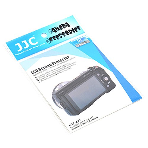 JJC Acryl Glas LCD Displayschutz für Sony SLT-A77, SLT-A77V - Ersetzt Sony PCK-LM2AM