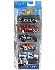 Hot Wheels 01806 5-pack 1:64 Die-Cast voertuigen cadeauset