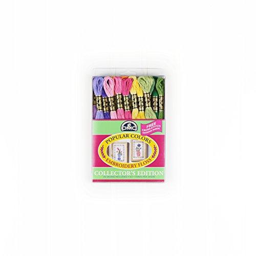DMC 刺繍糸パック 8.7 ヤード人気色 36 枚入り