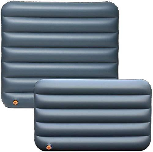 HongLianRiven cama de viaje de viaje para coche o coche de aire colchón inflable cama de viaje, colchón inflable, cama de aire, maletero plegable para camping, sofá de asiento trasero de 5 a 26