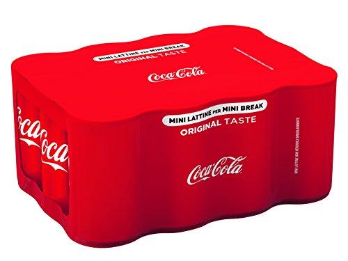 Coca-Cola Original Taste lattina 15 CL (confezione da 12)