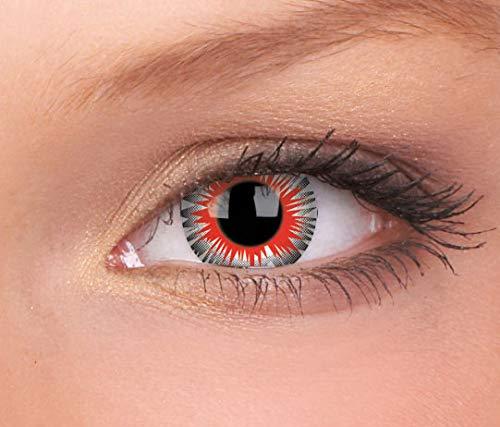 Halloween Kontaktlinse Lustige Linsen Axon Jährliche Einwegartikel 14 mm stärke 0.00 von ColourVUE